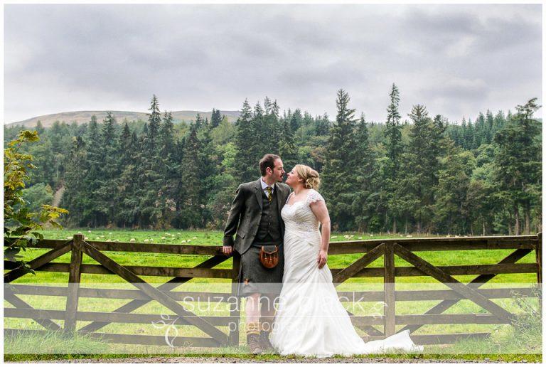Aikwood Tower Wedding Photography- David and Kaye