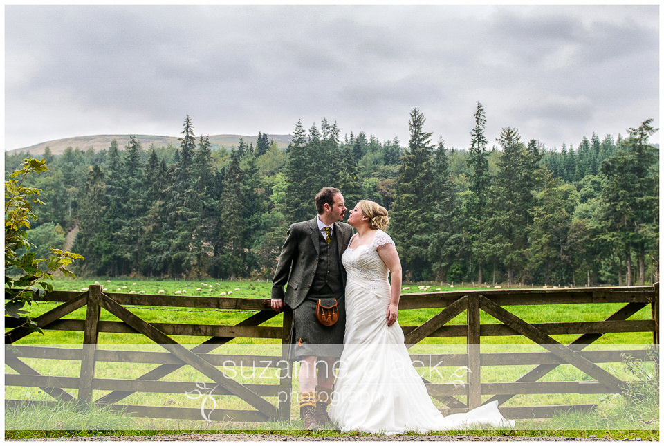 Aikwood Tower Wedding Photography- David and Kaye