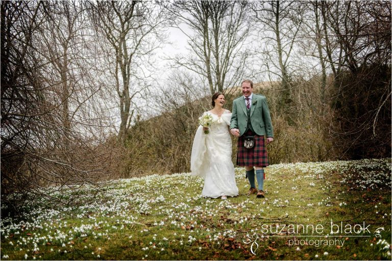 Scottish Borders Wedding Photography – Xander and Jenny