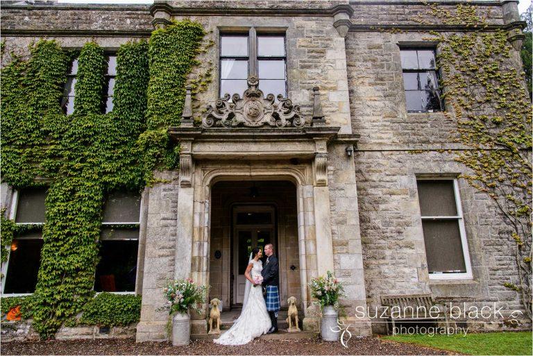 Craigsanquhar hotel wedding photography – Laura and Zander