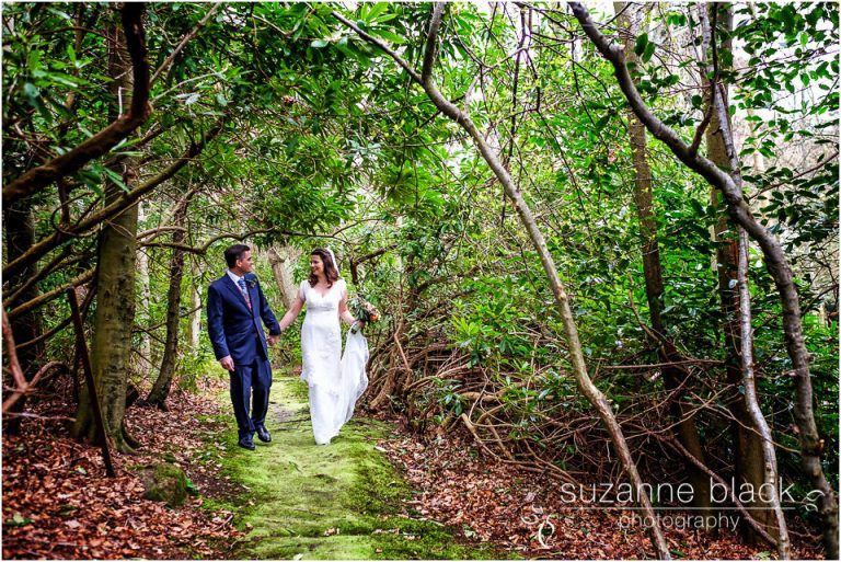 Birkhill Castle wedding photography – Jo and Stefan