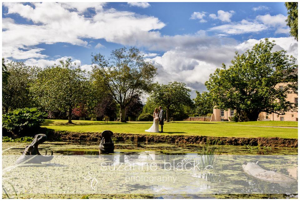 Myres Castle Wedding Photography – Ewan and Jennifer