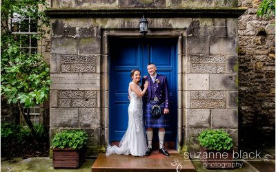 St Andrews Wedding Photography – Alan and Angela