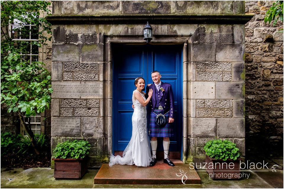St Andrews Wedding Photography – Alan and Angela