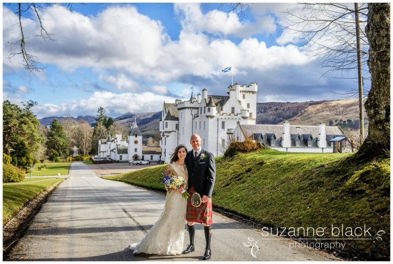 Blair Castle Wedding Photography – David and Natalie