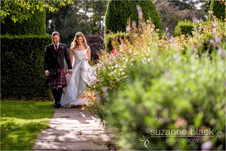 Ruffletts Hotel Wedding Photography – Catriona and Dan