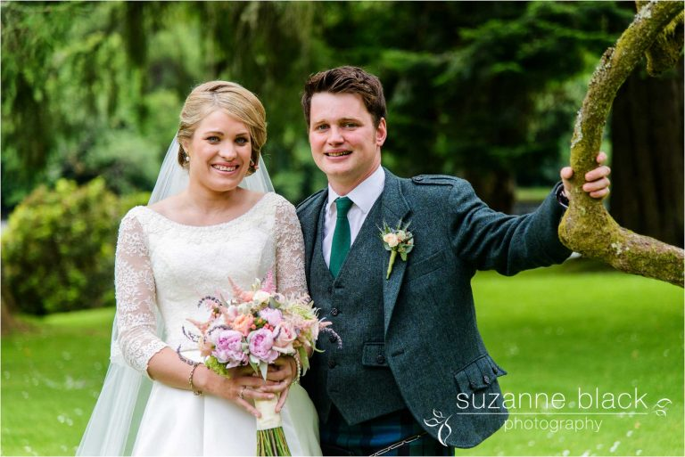 Ballathie House Wedding Photography – Diana and James