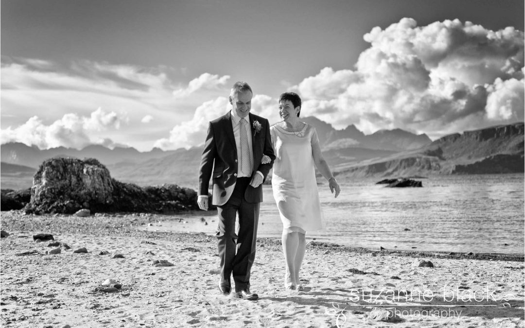 Scottish Elopement Photography – Janine and Alex on Skye