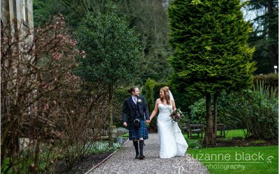 Balbirnie Hotel Wedding Photography – Chris and Megan