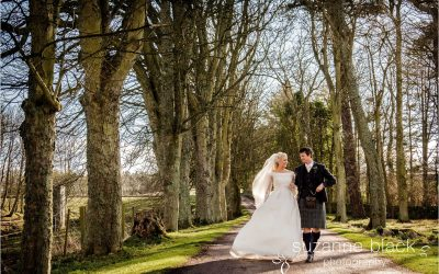 Kinkell Byre Wedding Photography – Jamie and Annie