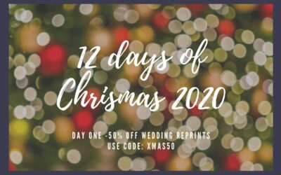 12 days of Christmas 2020 – Day one