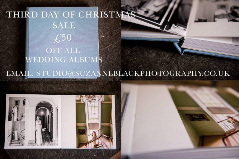 12 days of Christmas – Day Three – 50% off wedding album