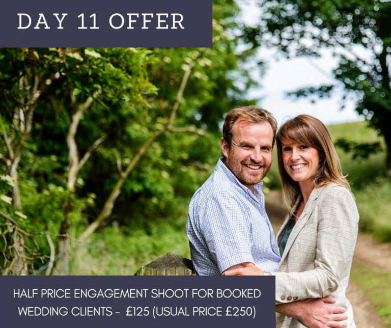 12 Days of Christmas – Day 11 – Half Price engagement shoot