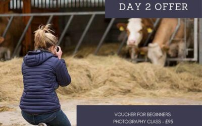 12 days of Christmas 2020 – Day Two – Photography class voucher
