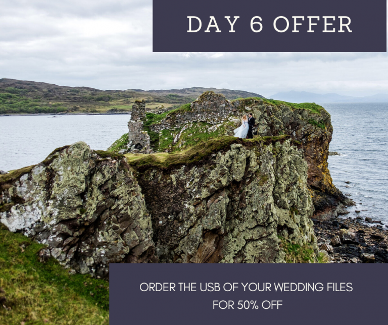 12 Days of Christmas – Day Six – 50% off your wedding digital files