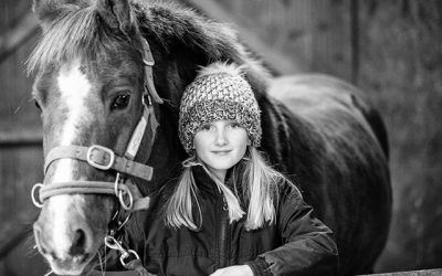 "12 Days of Christmas – Day Five – ""Me and My Pony"" portrait voucher"