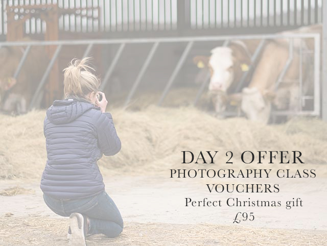 12 days of Christmas 2019 – Day Two – Photography class voucher
